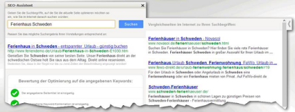 Screenshot SEO-Assistent